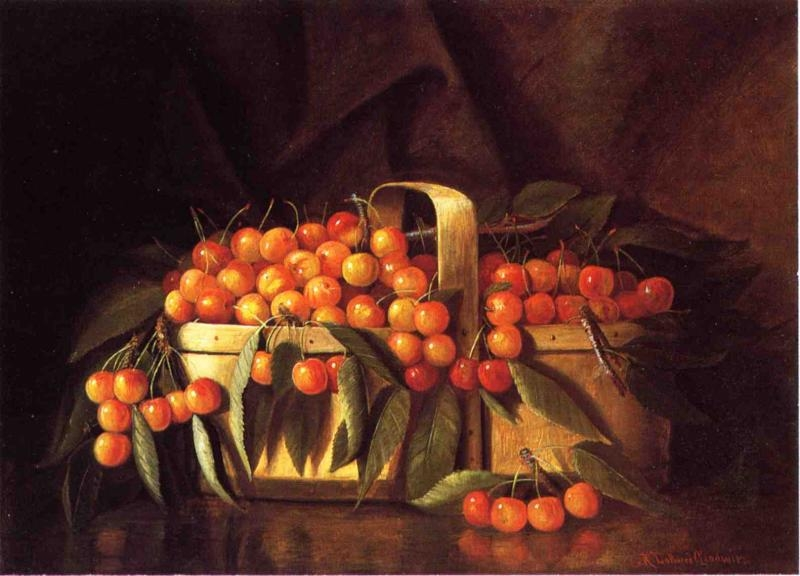 A Basket of Cherries by Richard LaBarre Goodwin