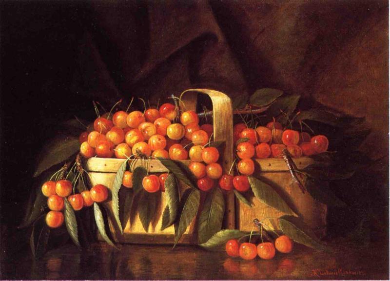 A Basket of Cherries by Richard LaBarre Goodwin