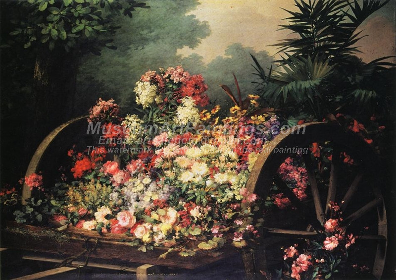 A Cart of Wild Flowers Desire de Keghel