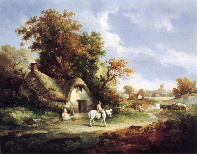 A Country Idyll By Thomas Hand