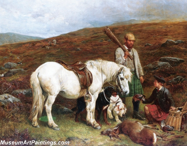 A Days Hunting by John Sargent Noble