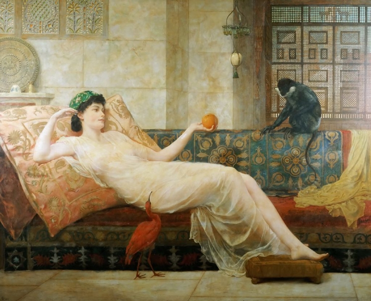 A Dream of Paradise by Frederick Goodall