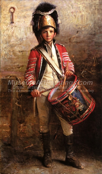 A Drummer Boy of the Royal Scotts Dragoons