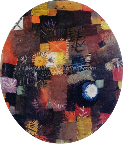 A Little Christmas Still Life by Paul Klee