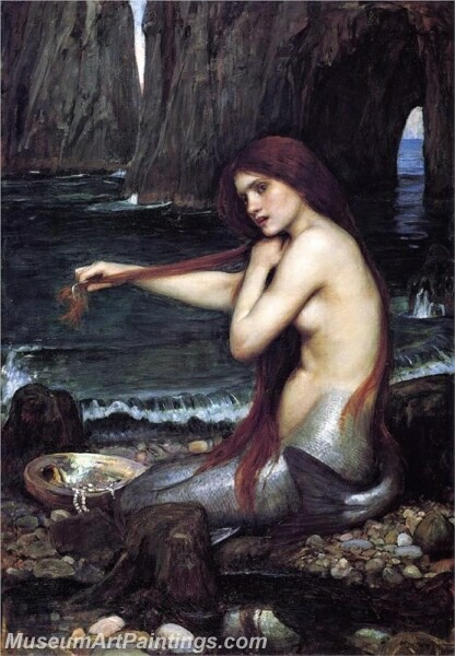 A Mermaid Painting