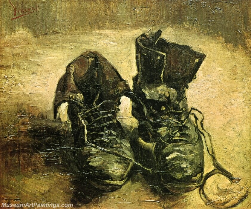 A Pair of Shoes Painting