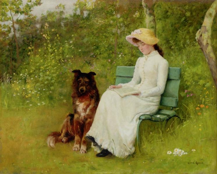 A Quiet Read by Edwin Harris