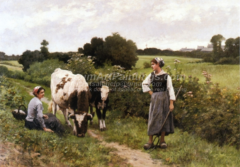 A Rest along the Way by Edouard Bernard Debat