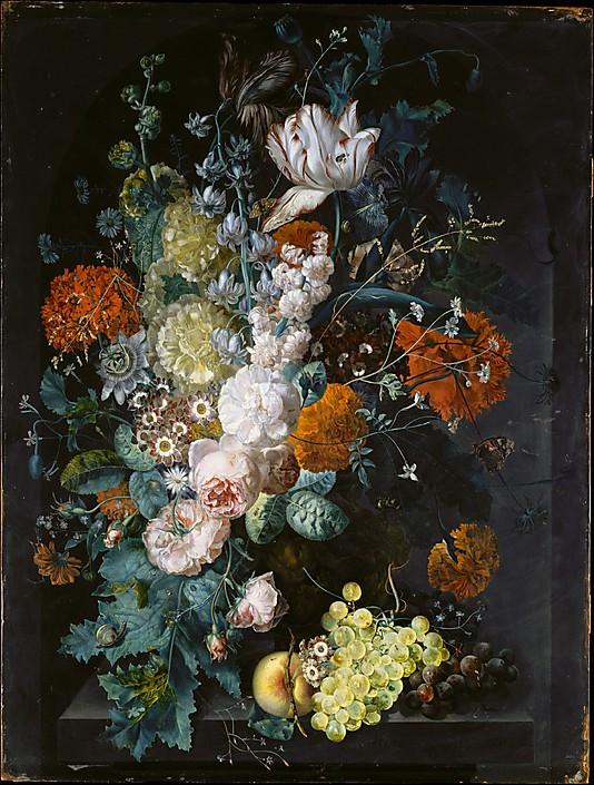 A Vase of Flowers by Margareta Haverman