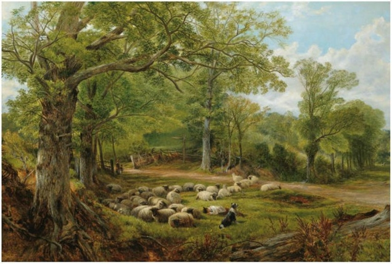 A summer day by Frederick William Hulme