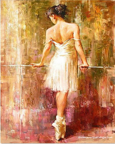 Abstract Ballet Oil Painting 209 Hot Sale