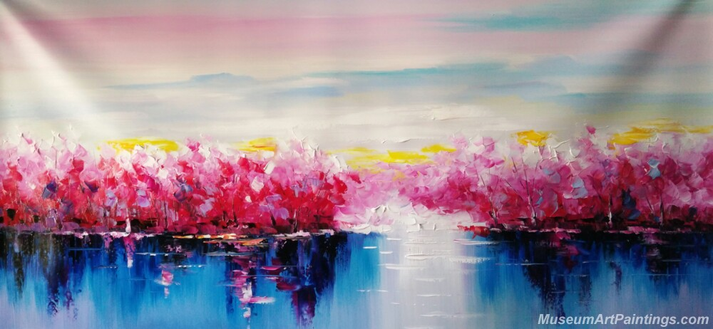 Abstract Tree Landscape Paintings 004