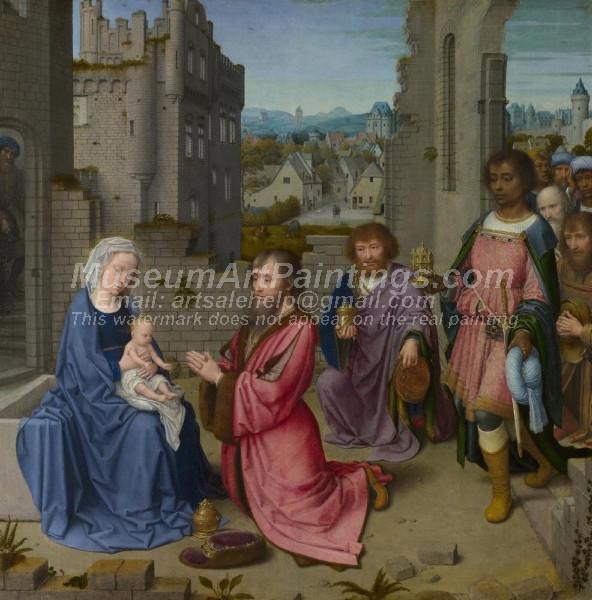 Adoration of the Kings by Gheeraert David
