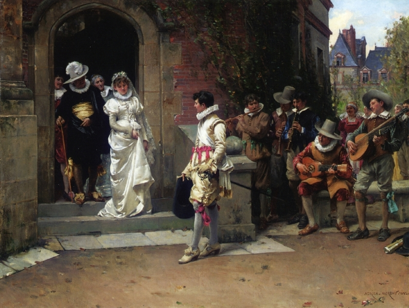 After the Wedding by Adrien Moreau