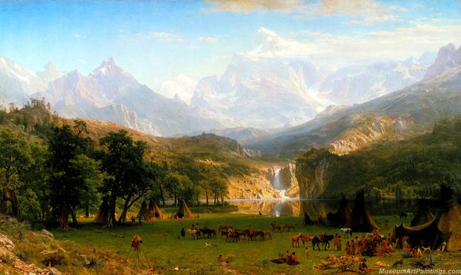 Albert Landscape Painting Rocky Mount