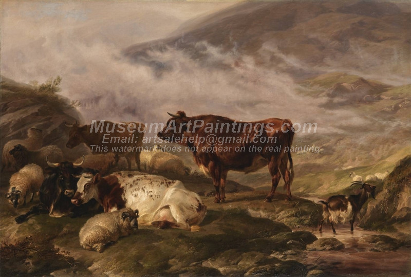 Among the Cumberland Mountains by Thomas Sidney Cooper