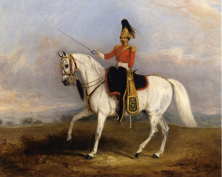 An Officer of the Dragoon Guards