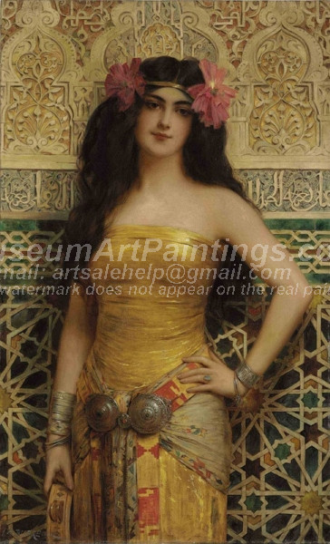 An Oriental Beauty by Charles Dubreuil