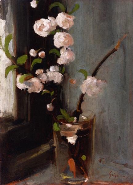 Apple Blossom by Nicolae Gregorescu