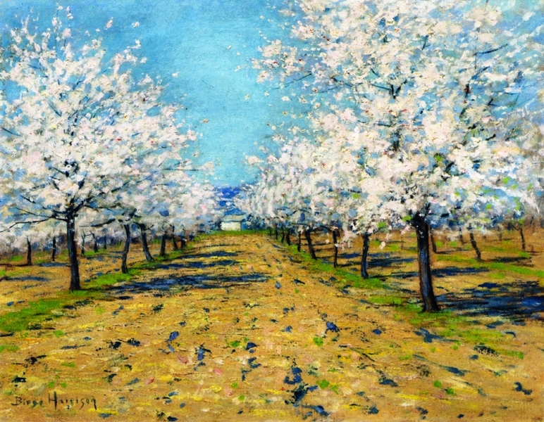 Apple Blossoms by Lowell Birge Harrison