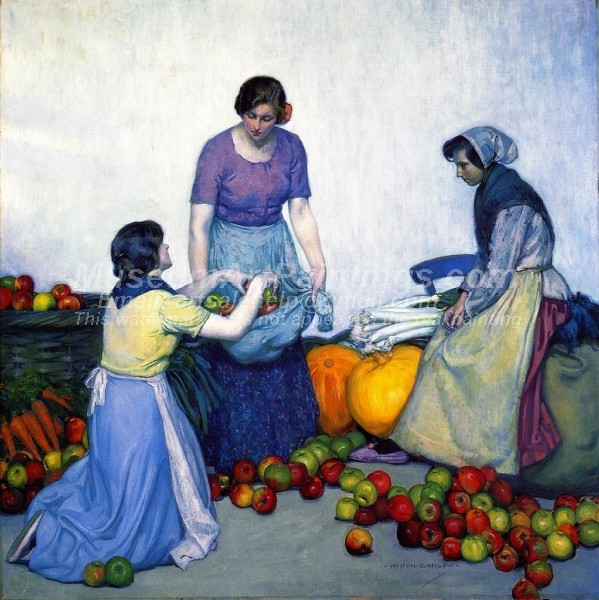 Apples by Myron G Barlow