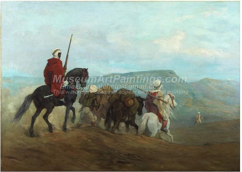 Arab Horse Paintings Arab Horse Soldiers