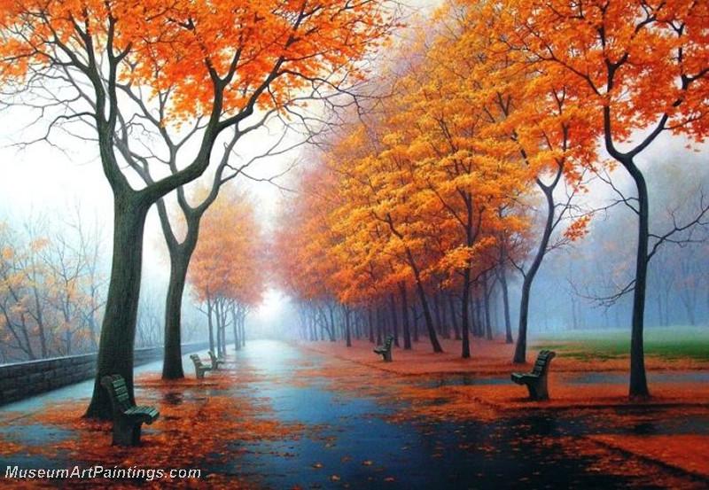 Autumn Landscape Paintings 006