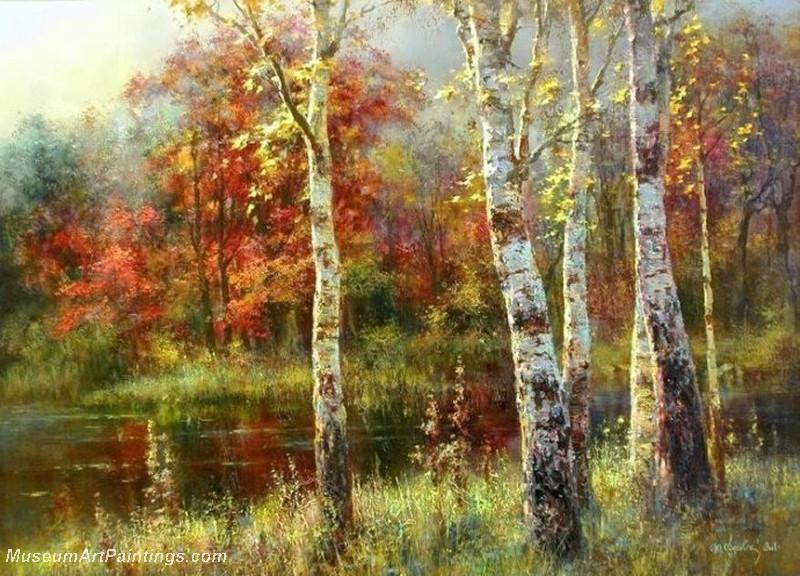 Autumn Landscape Paintings 008