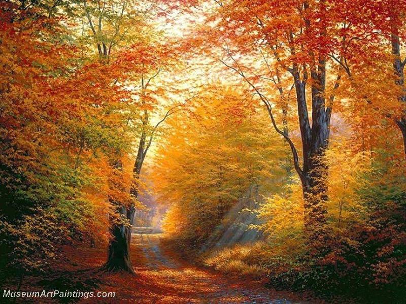 Autumn Landscape Paintings 013