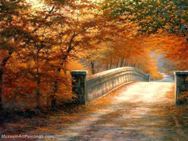 Autumn Landscape Paintings 014