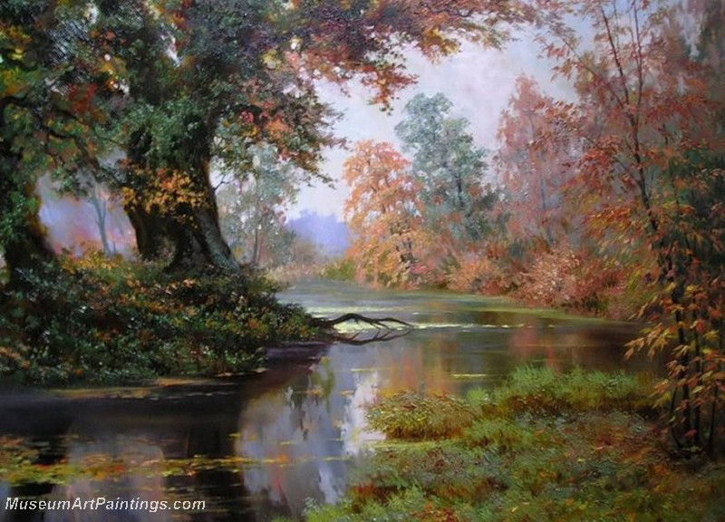 Autumn Landscape Paintings 024