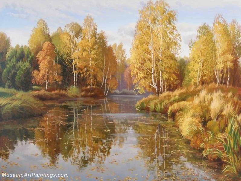 Autumn Landscape Paintings 025