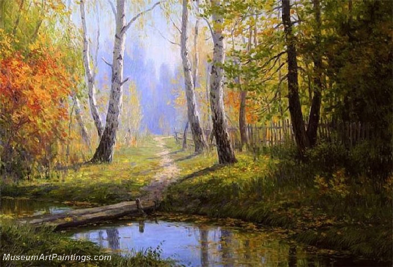 Autumn Landscape Paintings 027