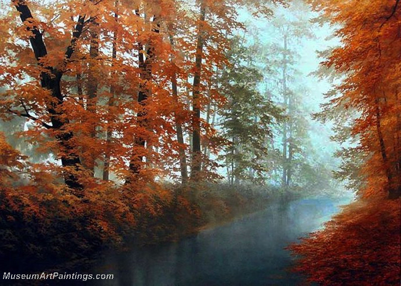Autumn Landscape Paintings 030
