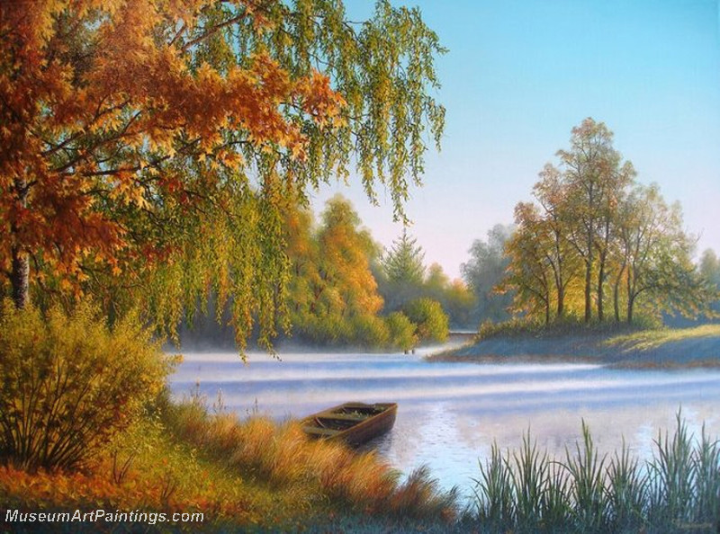 Autumn Landscape Paintings 031