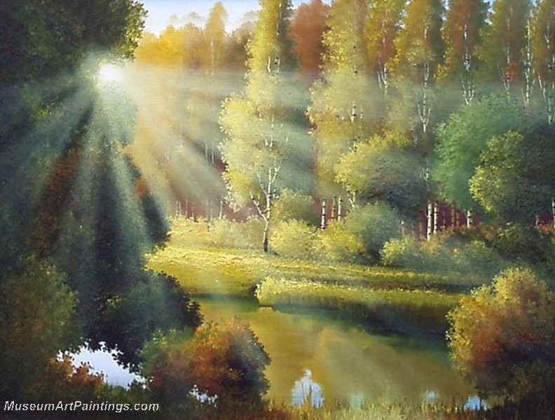 Autumn Landscape Paintings 032