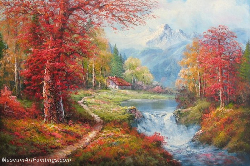 Autumn Landscape Paintings 034
