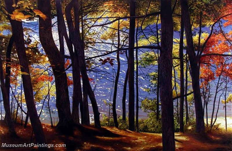 Autumn Landscape Paintings 035