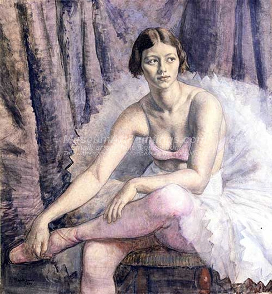 Ballet Dancer by Laura Knight