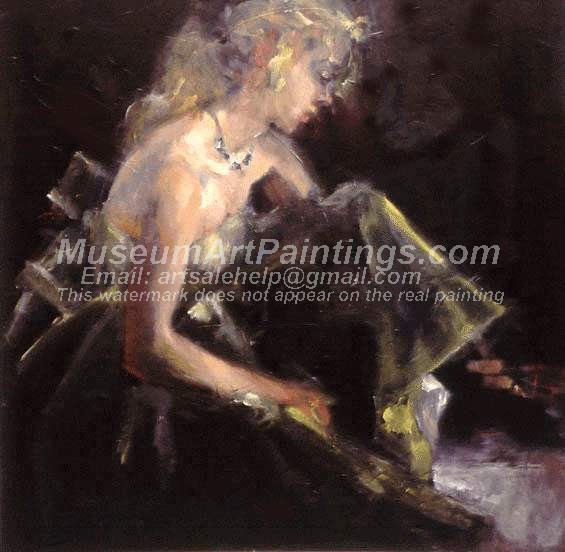 Ballet Oil Painting 003