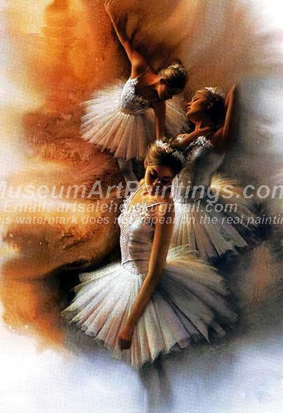 Ballet Oil Painting 011