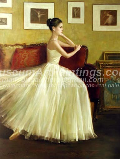 Ballet Oil Painting 013