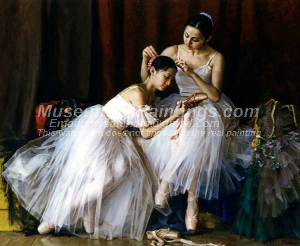 Ballet Oil Painting 025