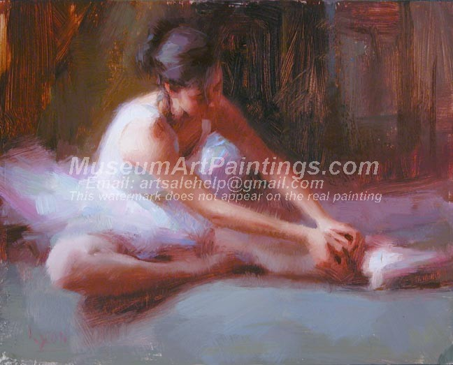 Ballet Oil Painting 027