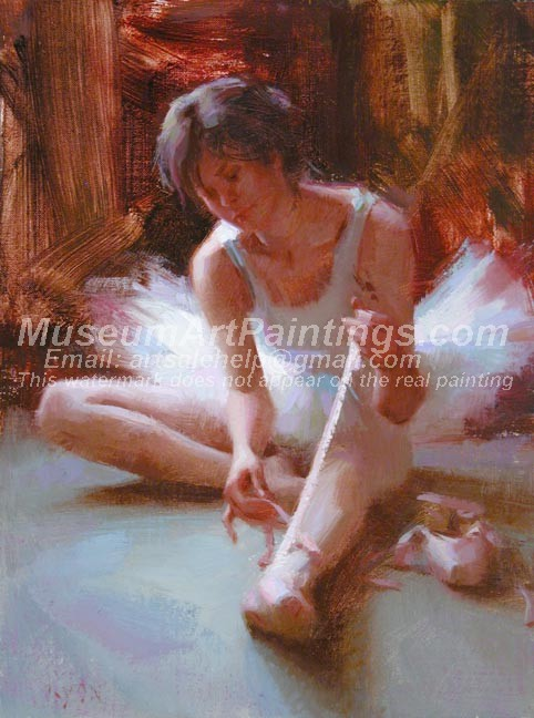 Ballet Oil Painting 028