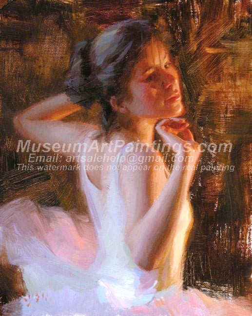 Ballet Oil Painting 029