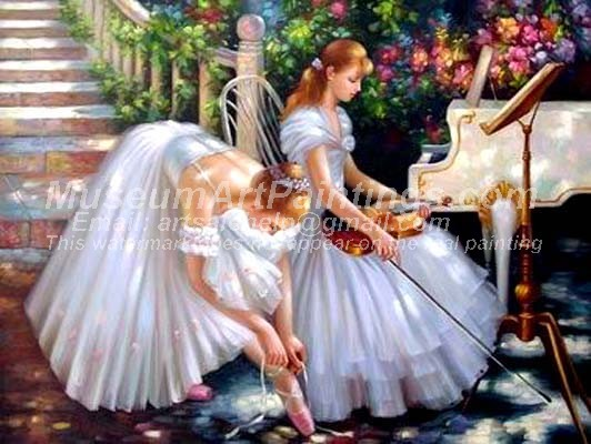 Ballet Oil Painting 030