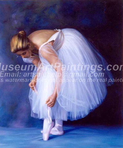Ballet Oil Painting 031
