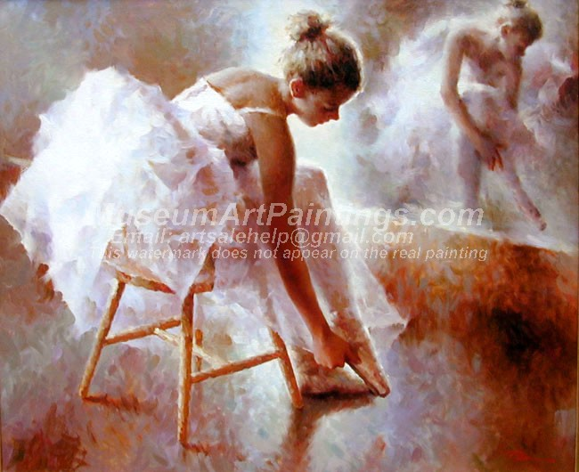 Ballet Oil Painting 033