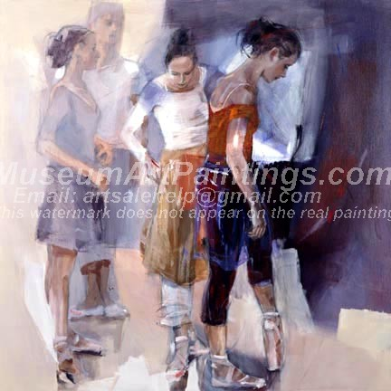 Ballet Oil Painting 037
